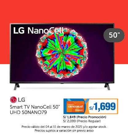 LG Smart TV NanoCell 50