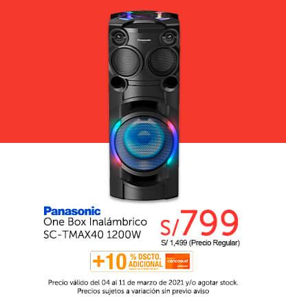 Panasonic One Box SC-TMAX40 1200W