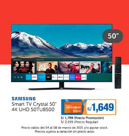 Samsung Smart TV Crystal 50