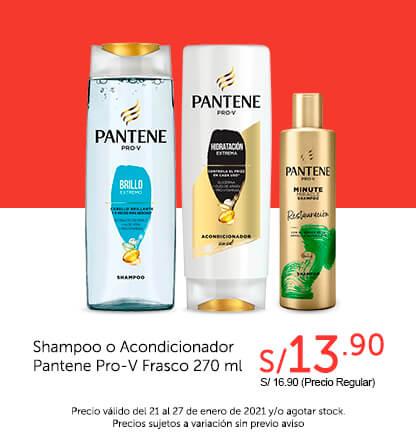 Shampoo o Acondicionadro Pantene Pro-V Frasco 270 ml
