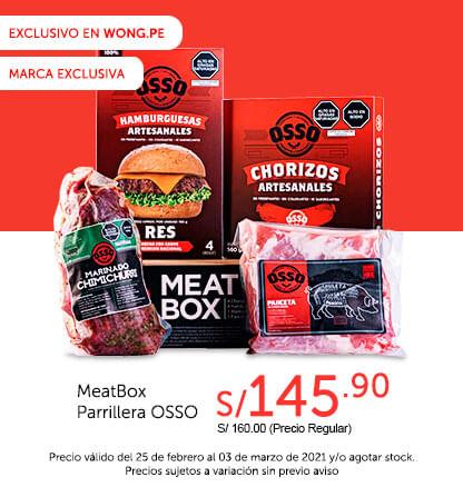 MeatBox Parrillera OSSO