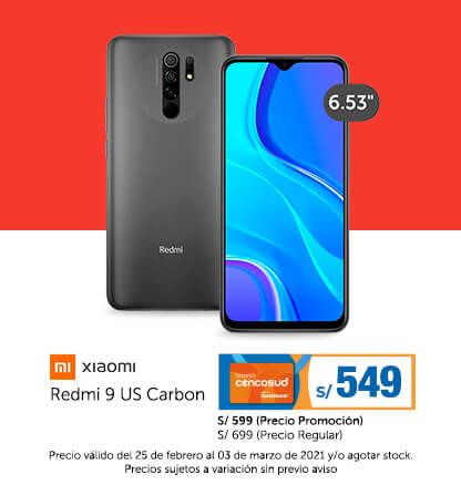 Xiaomi Redmi 9 US Carbon