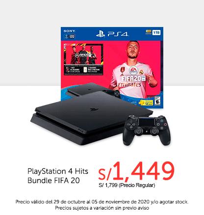 PlayStation 4 Hits Bundle FIFA 20
