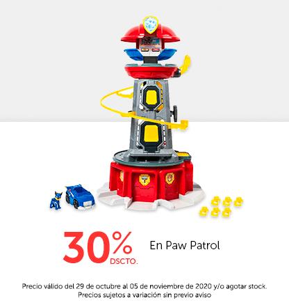 30% Paw patrol