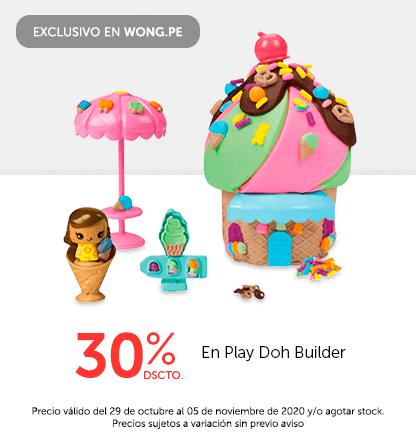 30% Play Doh Builder
