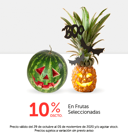 10% Dscto En Frutas Seleccionadas