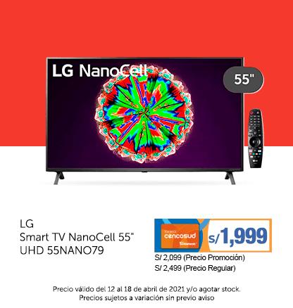 LG Smart TV NanoCell 55 UHD 55NANO79