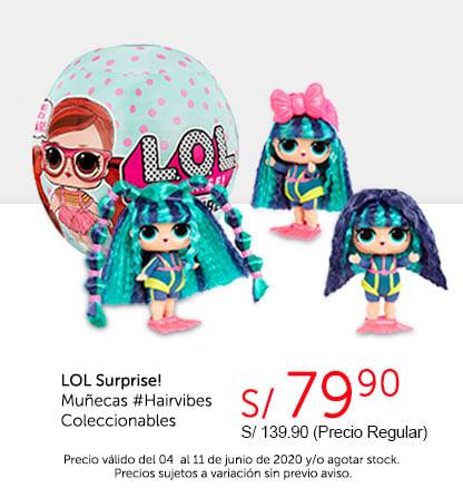 LOL Surprise! Muñecas #Hairvibes Coleccionables