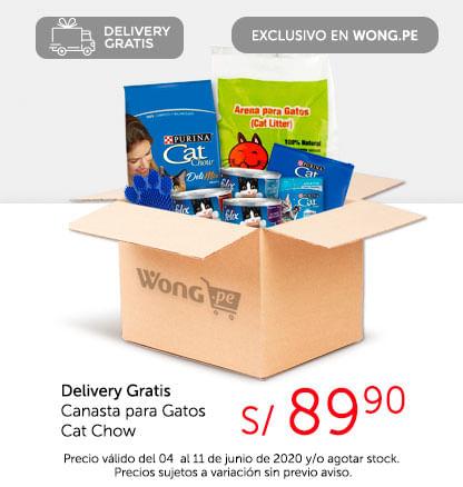 Delivery Gratis Canasta para Gatos Cat Chow