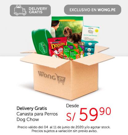 Delivery Gratis Canasta para Perros Dog Chow