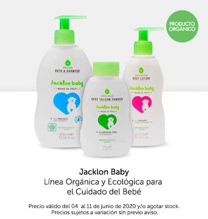 Jacklon Baby. Línea Orgánica y Ecológica Para el Cuidado del Bebé