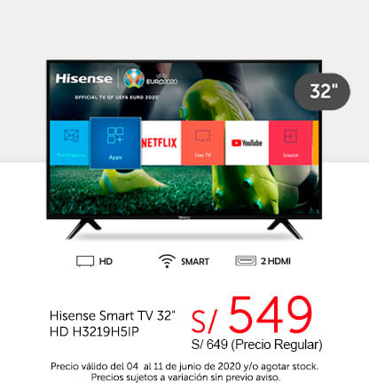 Hisense Smart TV 32