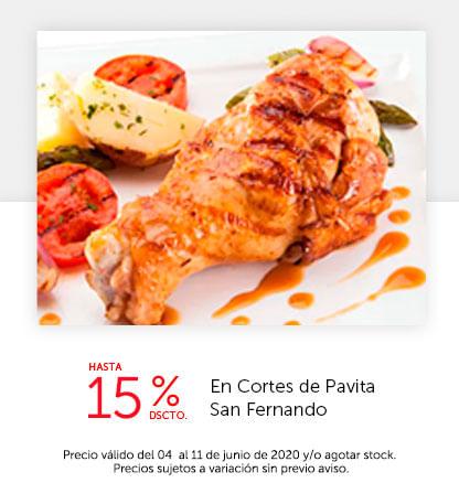 Hasta 15% Dscto. en Cortes de Pavita San Fernando