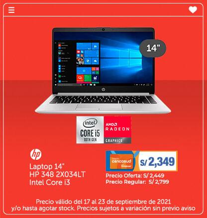 Hp Laptop 14 HP 348 2X034LT Intel Core i3