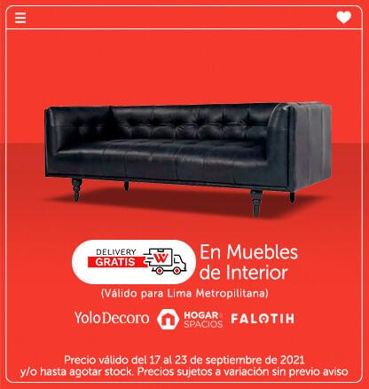 Delivery gratis en Muebles de Interior (Yolodecoro, Hogar&Spacios, Falotih)