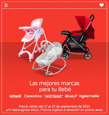 Las mejores marcas para tu Bebé (Infanti, Carestino, Twistshake, Ebaby, Maternelle)