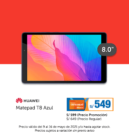 Huawei Matepad T8 Azul