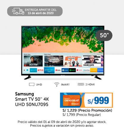 Oferta Samsung Smart TV 50'' 4k