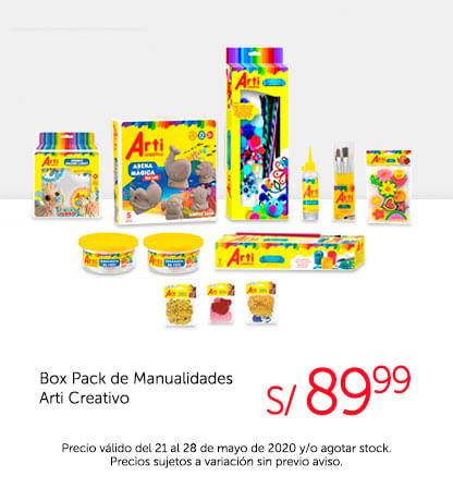 Box Pack de Manualidades Arti Creativo