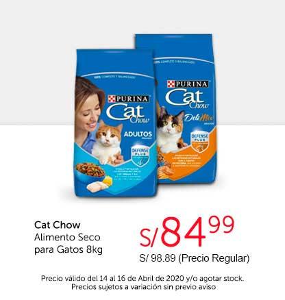 Oferta Cat Chow Alimento Seco Gato 8kg
