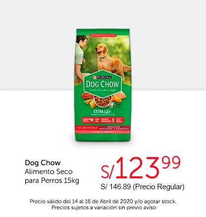 Oferta Dog Chow Alimento Seco 15kg