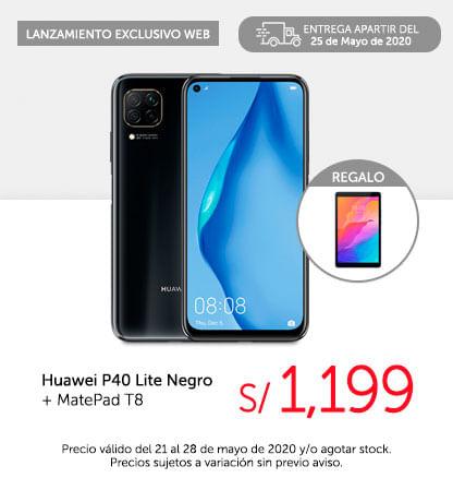 Huawei P40 Lite Negro   MatePad T8