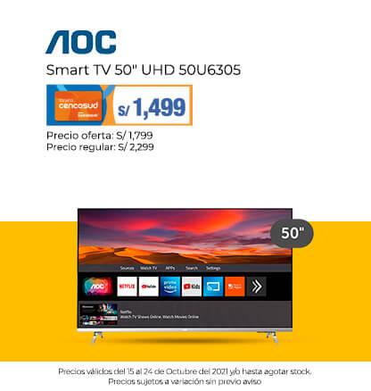 AOC Smart TV 50 UHD 50U6305