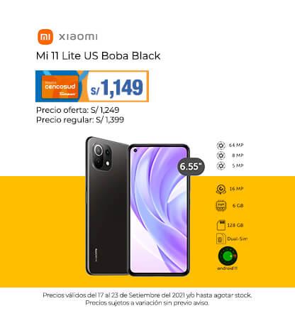 Xiaomi Mi 11 Lite US Boba Black