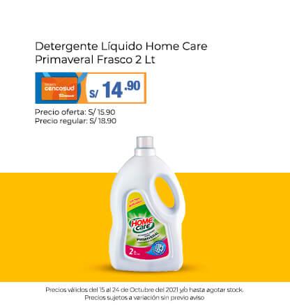 Detergente Líquido Home Care Primaveral Frasco 2 Lt