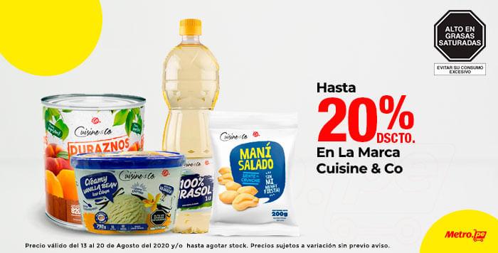 Hasta 20% Dcto En La Marca Cuisine & Co (productos seleccionados)