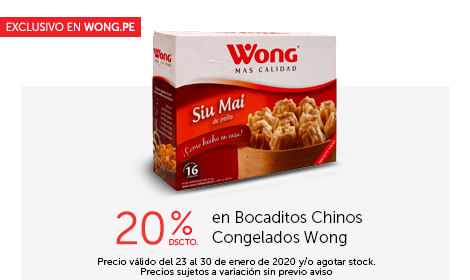 Encuentra lo mejor en www.wong.pe