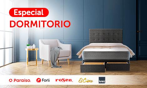 Especial Dormitorio (Logo: Paraiso, Forli, Rosen, El Cisne, Krea)