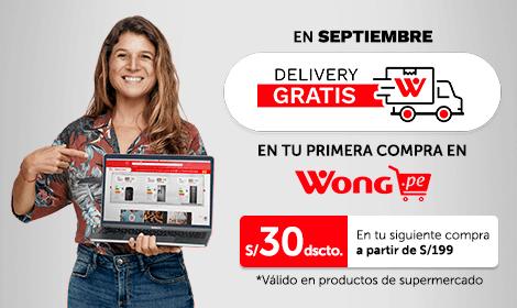 delivery gratis primera compra