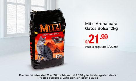 Mitzi Arena para Gatos Bolsa 12kg
