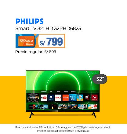 Philips Smart TV 32 HD 32PHD6825
