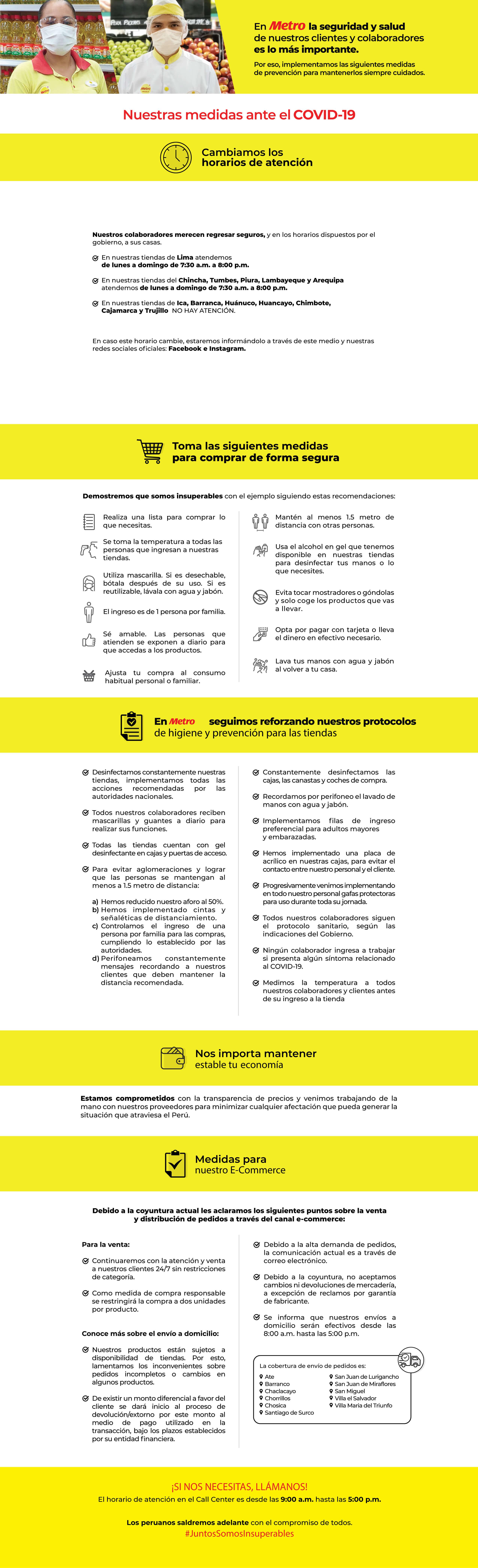 infografía medidas ante COVID-19